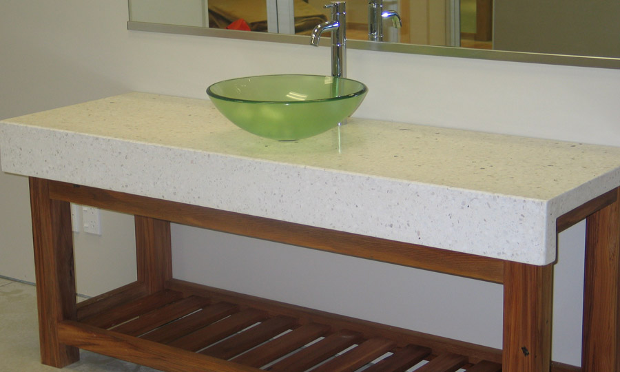 how to make concrete benchtops nz